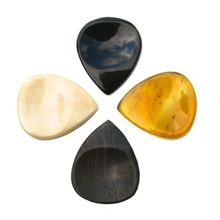 Timber Tones Groove Tone Mini Guitar Picks, Players Mixed Pack of 4