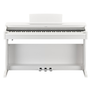 Yamaha Arius YDP163 Digital Piano Package, Satin White - Piano