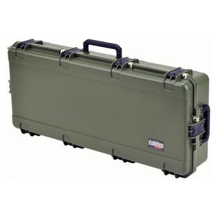 SKB iSeries 4217-7 Waterproof Case (Empty), Olive Drap - Angled