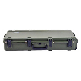 SKB iSeries 4217-7 Waterproof Case (Empty), Olive Drap - Front Flat