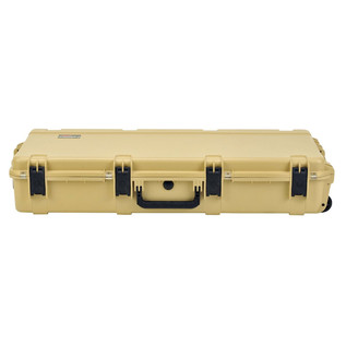 SKB iSeries 4217-7 Waterproof Case (Empty), Tan - Front Flat