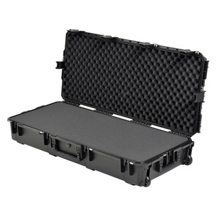 SKB iSeries 4217-7 Waterproof Case (With Layered Foam) - Angled Open