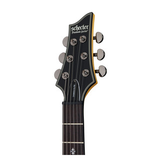 Schecter Damien Elite-6 Electric Guitar, Trans Black Burst