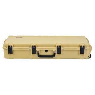 SKB iSeries 4217-7 Waterproof Case (With Layered Foam), Tan - Front Flat
