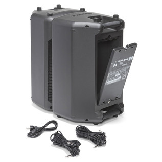 Samson XP1000B PA with Bluetooth - Speakers With Cables