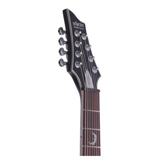Schecter Damien Platinum-8 Electric Guitar, Satin Black