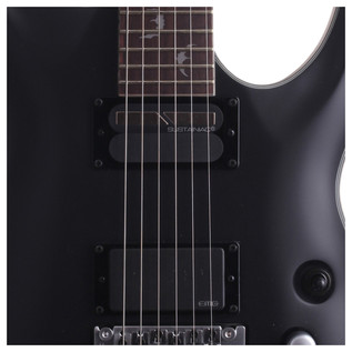 Schecter Damien Platinum-6 FR S Electric Guitar, Satin Black