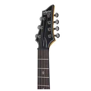Schecter Damien Elite-7 Electric Guitar, Trans Black Burst