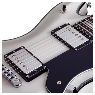 Schecter Tempest Custom Electric Guitar, Vintage White