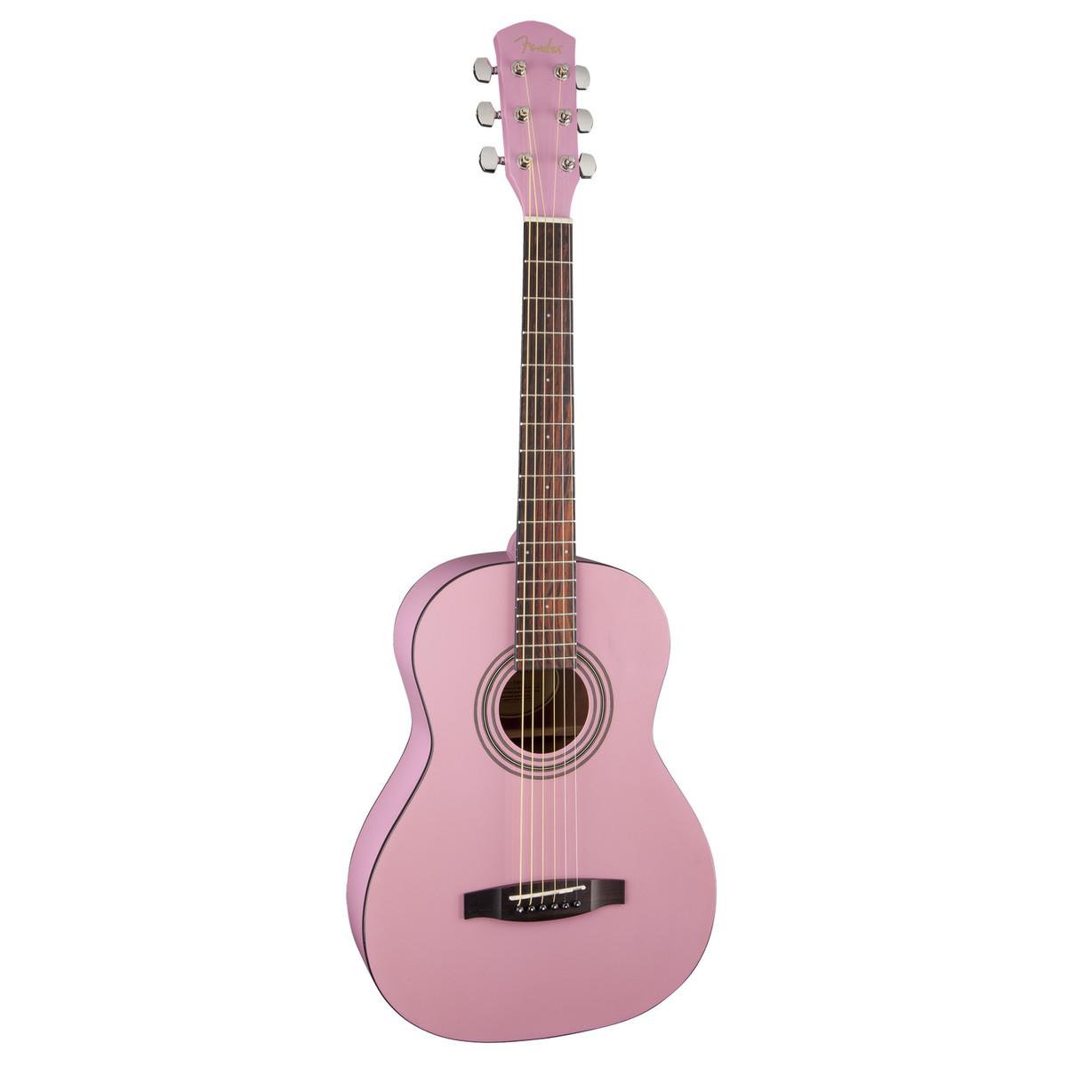 fender fsr ma 1 3 4 acoustic guitar gloss pink at. Black Bedroom Furniture Sets. Home Design Ideas