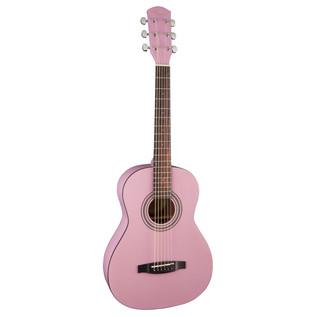 Fender FSR MA-1 3/4 Acoustic Guitar, Gloss Pink