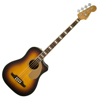 Fender FSR Kingman SCE Acoustic Bass Guitar, 3 Tone Sunburst