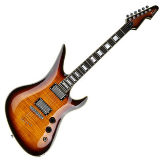 Schecter Avenger Custom Electric Guitar, Tobacco Sunburst
