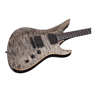 Schecter Avenger 40th Anniversary Electric Guitar, Snow Leopard Pearl