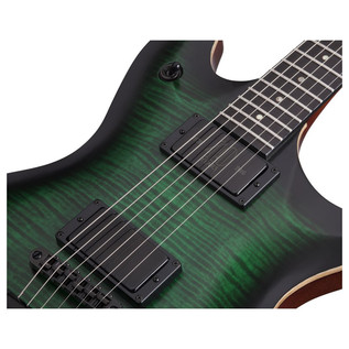 Schecter Tempest 40th Anniversary Electric Guitar, Green