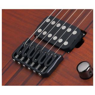 SchecterBanshee Elite-6 Electric Guitar, Cat's Eye Pearl