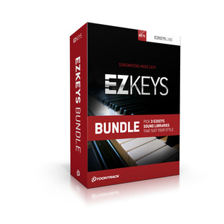 Toontrack EZKeys Software Bundle