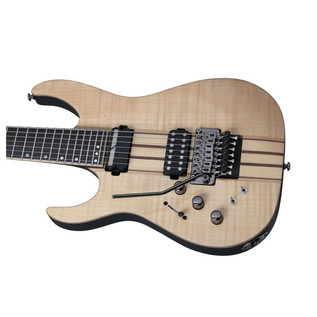 Schecter Banshee Elite-7 FR S Left Handed Electric Guitar, Natural