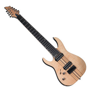 Schecter Banshee Elite-8 Left Handed Electric Guitar, Gloss Natural