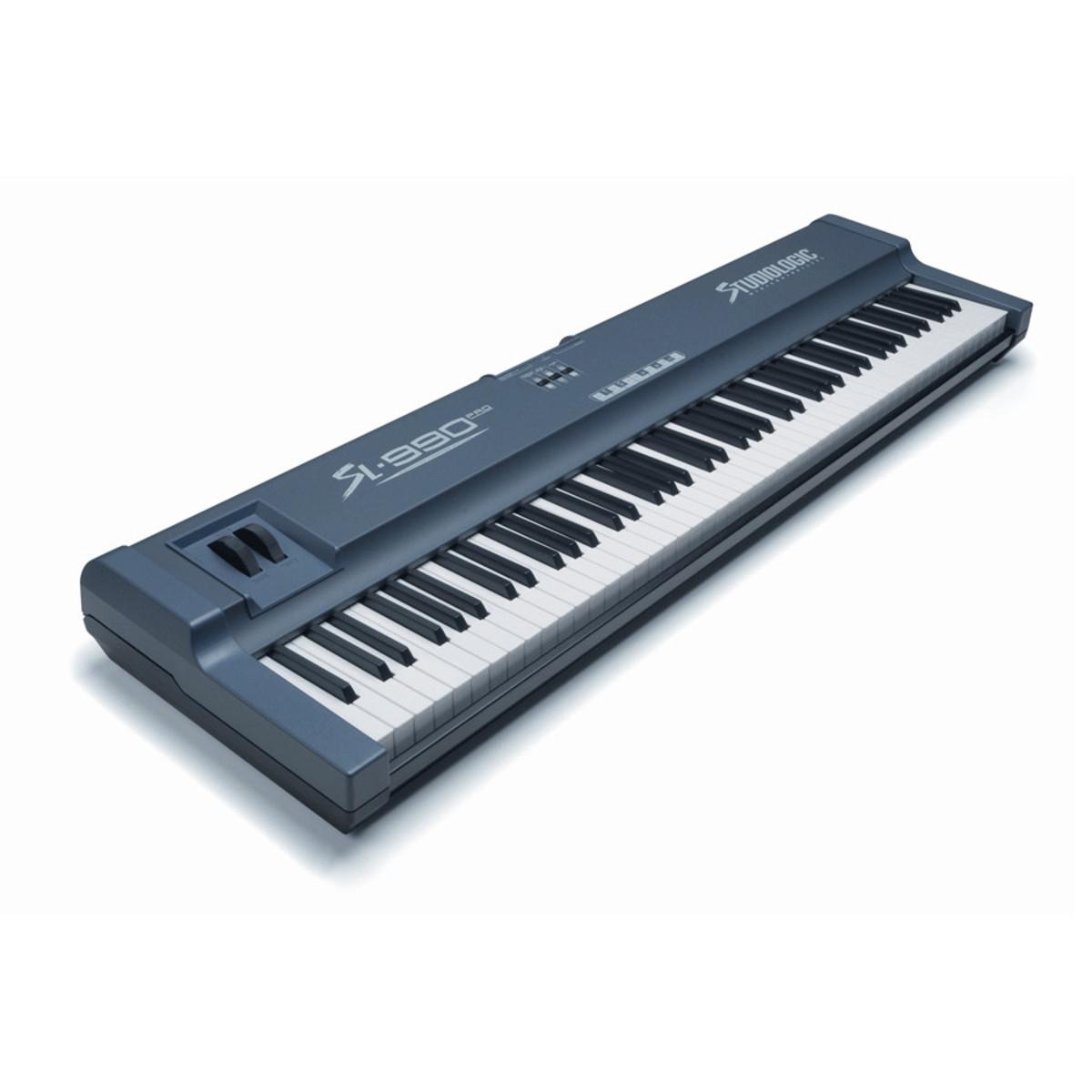 studiologic sl990 pro 88 key controller keyboard ex demo at. Black Bedroom Furniture Sets. Home Design Ideas