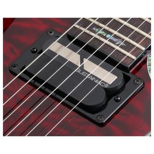 SchecterHellraiser C-1 FR S Passive Electric Guitar, Cherry