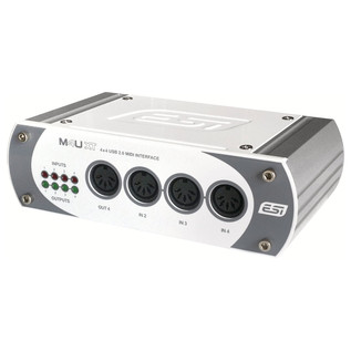 ESI M4U XT MIDI Interface - Angled