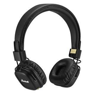Marshall Major II Bluetooth Headphones, Black