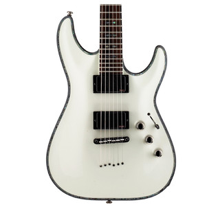 Schecter Hellraiser C-1 Electric Guitar, White