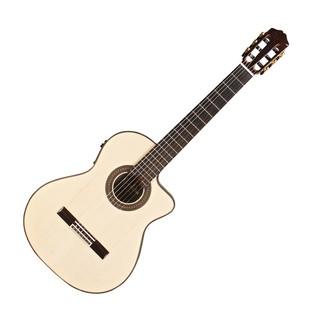 Cordoba Espana 55FCE Negra Macassar Electro Classical Guitar Top