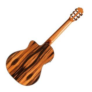 Cordoba Espana 55FCE Negra Macassar Electro Classical Guitar Bacl