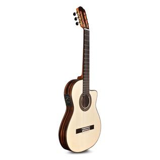 Cordoba Espana 55FCE Negra Macassar Electro Classical Guitar Side