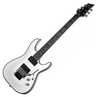 Schecter Hellraiser C-1 FR Electric Guitar, Gloss White