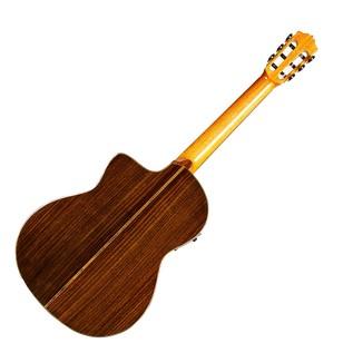 Cordoba GK Pro Negra Electro Acoustic Classical Guitar Back