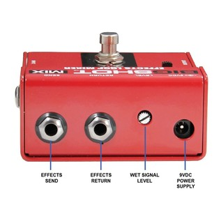 Radial Tonebone BigShot MIX Effects Mixer Back