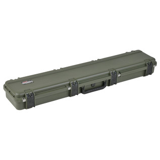 SKB iSeries 4909-5 Waterproof Case (Empty), Olive Drap - Angled Closed