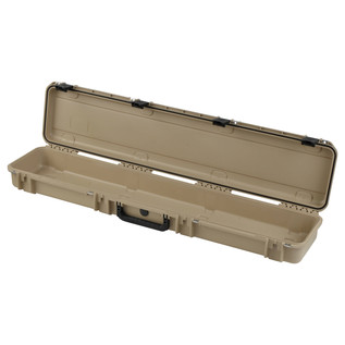 SKB iSeries 4909-5 Waterproof Case (Empty), Tan - Angled Open 2
