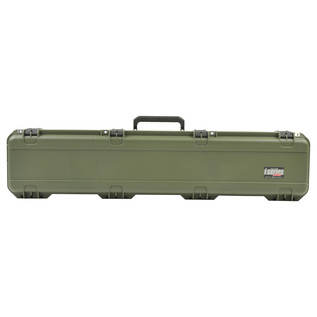 SKB iSeries 4909-5 Waterproof Case (With Layered Foam), Olive Drap - Front Closed