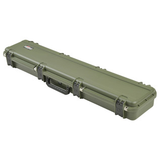 SKB iSeries 4909-5 Waterproof Case (With Layered Foam), Olive Drap - Angled Closed