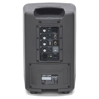 Samson XP106 Portable PA System - Rear