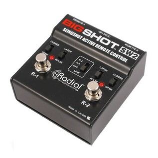 Radial Tonebone BigShot SW2 Remote Footswitch Side