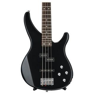 Yamaha TRBX204 4-String Electric Bass Guitar, Galaxy Black - Front Body