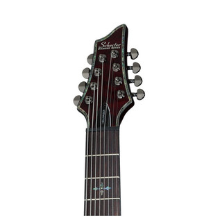 Schecter Hellraiser C-8 Electric Guitar, Black Cherry