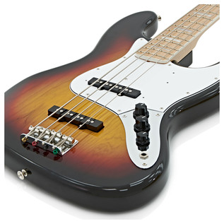 Fender Japan FSR Classic '70s Jazz Bass Guitar, 3 Colour Sunburst