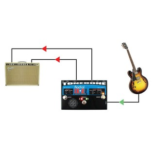 Radial Tonebone Switchbone ABY Switcher Example Setup 3