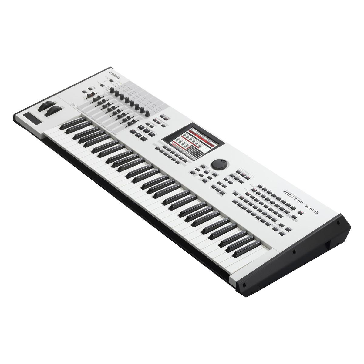 Yamaha motif xf6 keyboard workstation limited edition for Yamaha motif keyboard