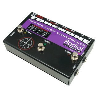 Radial Tonebone Loopbone Effects Loop Controller Side