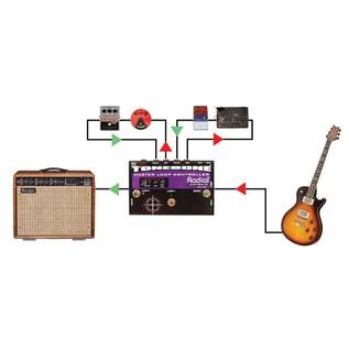 Radial Tonebone Loopbone Effects Loop Controller Example Setup 1