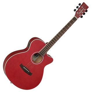 Tanglewood Discovery DBTSFCERD Electro Acoustic, Red Matt Satin