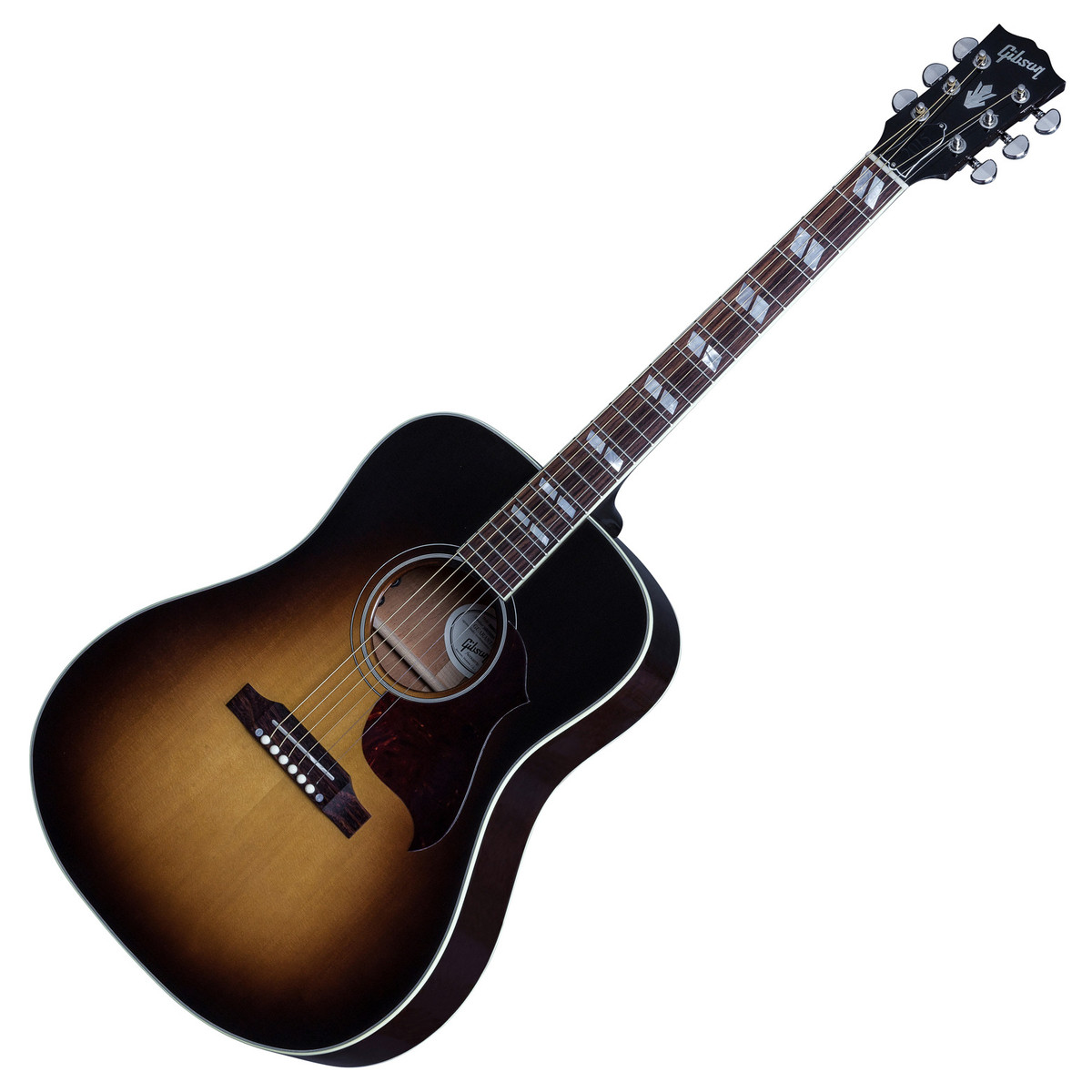 gibson hummingbird pro electro acoustic guitar vintage sunburst at. Black Bedroom Furniture Sets. Home Design Ideas