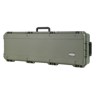 SKB iSeries 5014-6 Waterproof Case (Empty), Olive Drap - Angled Closed 2